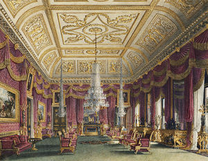 Carlton House, Crimson Drawing Room -