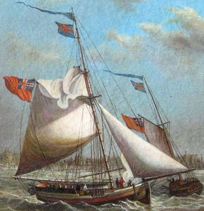 Ships Sailing Off The Coas