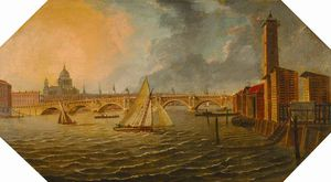 Blackfriars From Southwark, London
