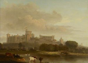 Distant View Of Windsor Castle -