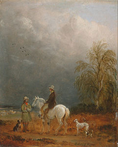 Traveller And A Shepherd In A Landscape