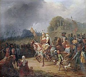 Margaret Of France Leads The Hungarians On Crusade
