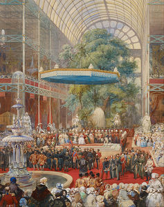 Opening Of The Great Exhibition