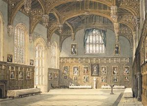 The Dining Hall, Christ Church, Oxford