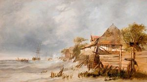 выключение Голландский береговой