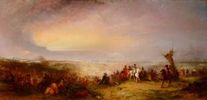 The Battle Of Waterloo - The Retreat Of The French