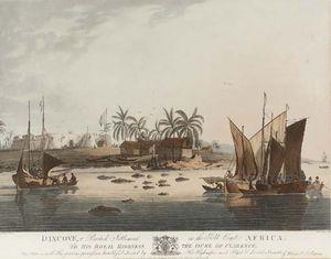 Cape Coast Castle, A British Settlement On The Gold Coast, Africa