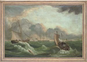 Vessels In A Swell, The Cliffs Of Dover Beyond
