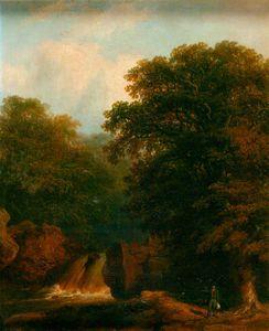 A Waterfall -
