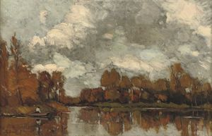 An Autumnal Afternoon Along The River Vecht