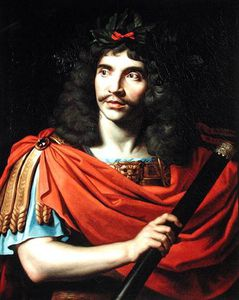 Moliere In The Role Of Caesar In 'the Death Of Pompe