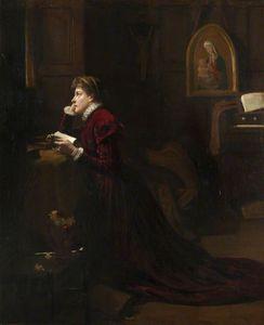 苏格兰玛丽女王 在  祈祷