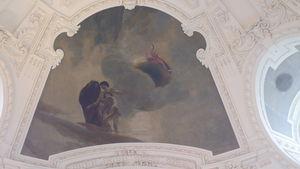 Le vestibule d'entrée du Petit Palais décorée par Albert Besnard -
