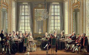 Conversation At Drottningholms Palace,