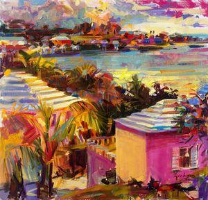 Dusk Reflections, Bermuda