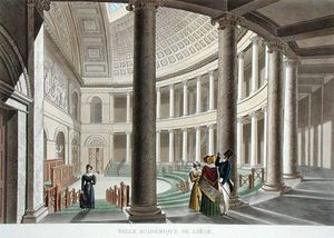 Interior Of The Academy At Liege