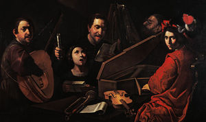 Concert With Musicians And Singers