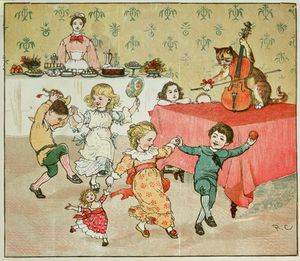 The Cat And The Fiddle And The Children's Party
