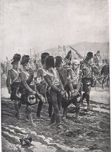 Carrying Sir John Moore From The Battlefield