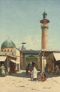 The Market At Samarkand
