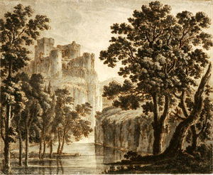 Castle In A Classical Landscape