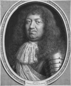 Porträt Charles D'albert D'ailly