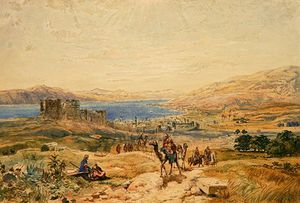 Tiberias On The Sea Of Galilee