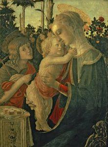 madonna und kind mit st . johannes der täufer -
