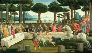 The Banquet In The Pinewoods