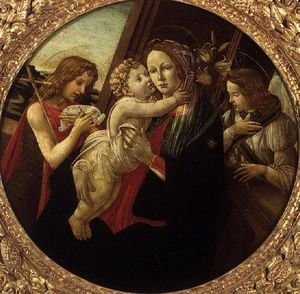 The Madonna And Child With The Infant St. John The Baptist