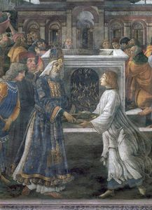 The Purification Of The Leper And The Temptation Of Christ -