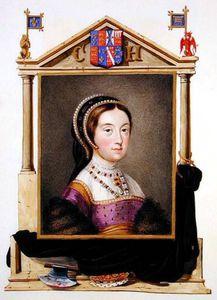 Qの裁判所の回顧録」からヘンリーVIIIのキャサリン·ハワード5日女王の肖像画
