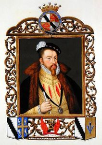 Portrait Of Thomas Radcliffe 3rd Earl Of Sussex From 'memoirs Of The Court Of Queen