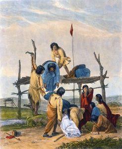 Indian Burial,