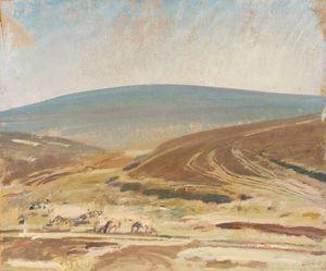 An Autumn Exmoor Landscape