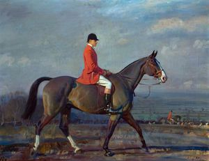 Colonel Lord Barnby On 'crusader' With The Blankney Hounds