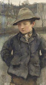 Boy Wearing A Hat