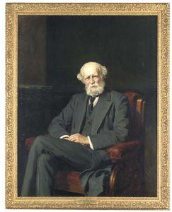 Portrait Of The Right Hon. John Lubbock, 1st Baron Avebury