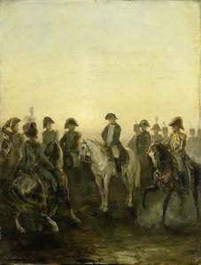 Napoleon And His Staff