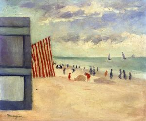 The Beach At Touquet