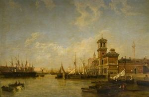 View Of The Thames, Pool Of London, From Billingsgate To London Bridge