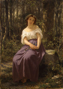 A Girl In The Woods