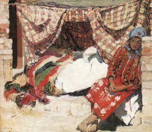 Sleeping Shokatz Woman