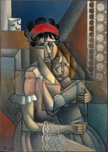 Femme À La Fenêtre, Maternité