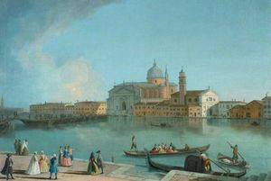 A View Of The Redentore, Venice