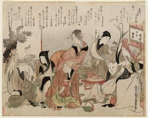 Party Charades Of The Seven Gods Of Good Fortune