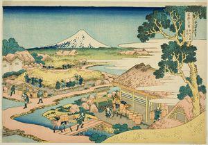 The Tea Plantation Of Katakura In Suruga Province