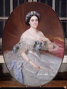 Portrait De La Princesse Mathilde Napoléon