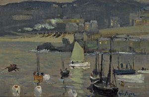 Twilight, St. Ives