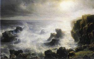 Storm On The Coast Of Belle-ile